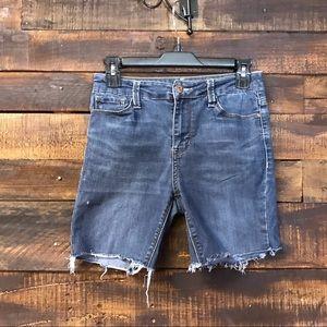 True Craft Cut-off Jean Shorts